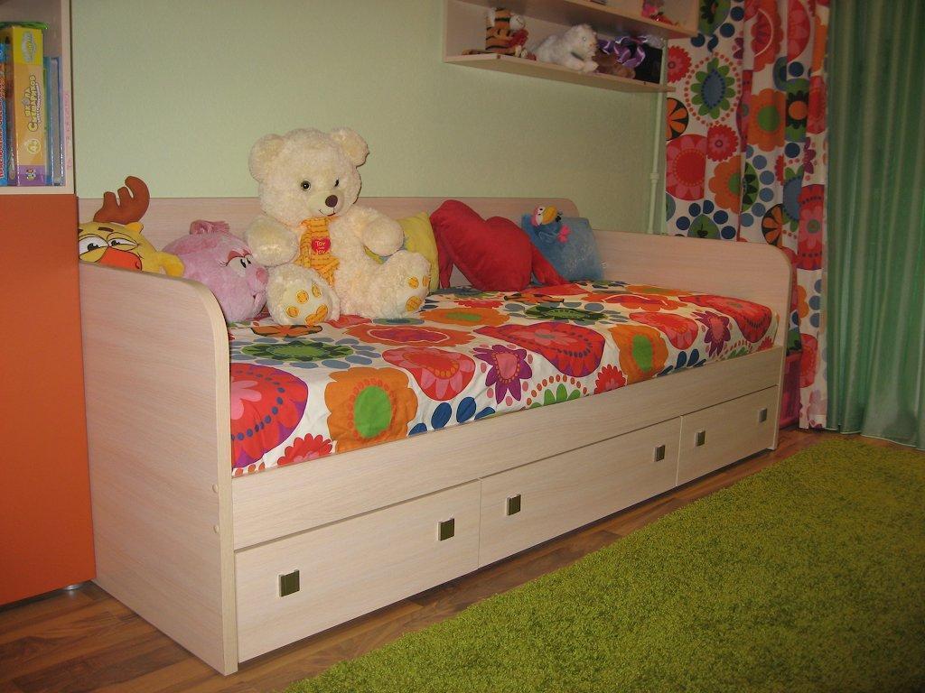 Детские кровати фото размеры